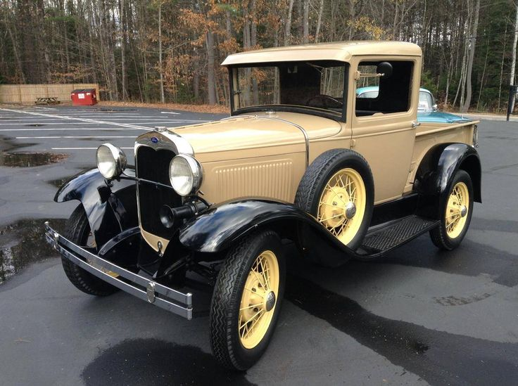 1930 Ford Model A 4 Cyl : ford models cars - markmcfarlin.com