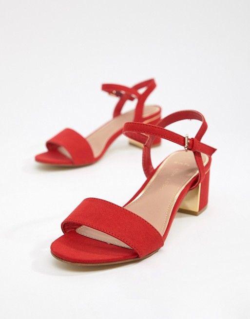 358a5c9e7dd New Look Wide Fit Low Block Heel Sandal in 2019