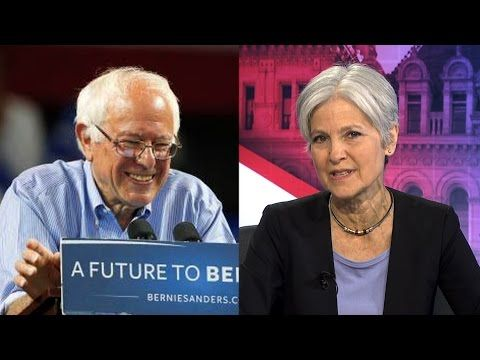 Jill Stein to Bernie Sanders: Run on the Green Party Ticket & Continue Your Political Revolution - YouTube