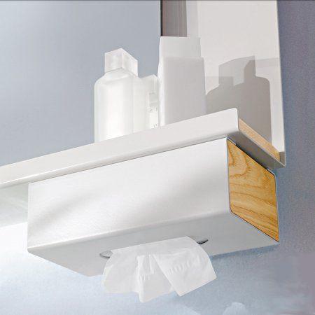 under-mount tissue box pour tuotes les pièces où on a besoin de mouchoirs...
