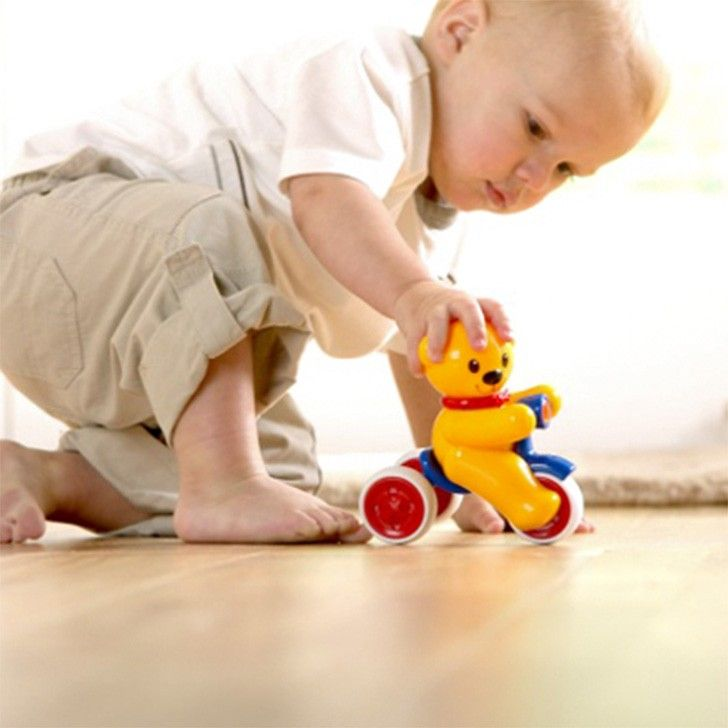 TOLO | Push and Go Teddy | Learning and Playtime | kinderelo.co.za