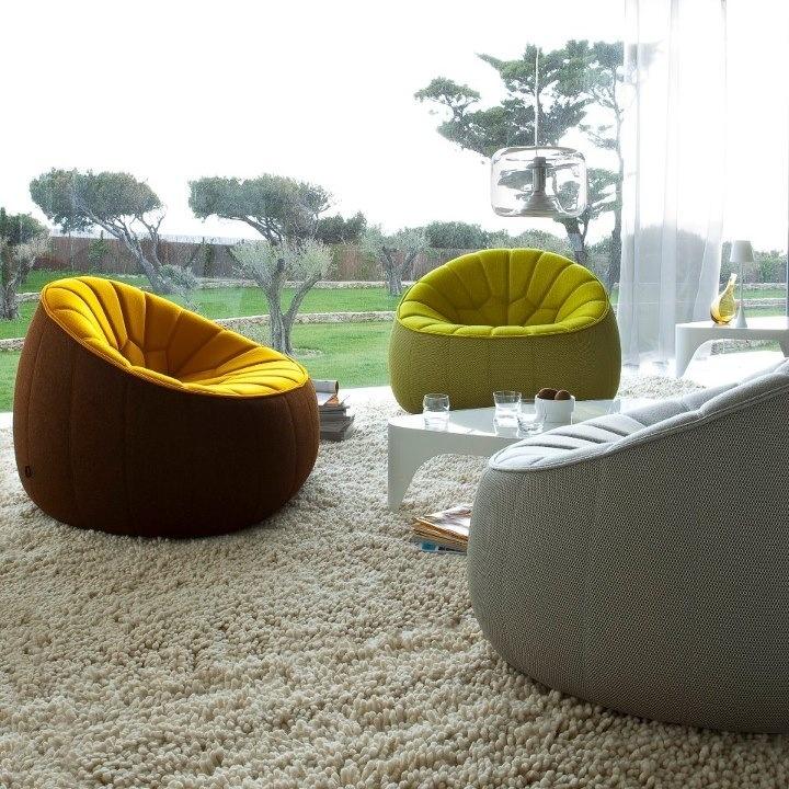 17 best images about un monde en ligne roset on pinterest armchairs living - Canape ottoman cinna ...