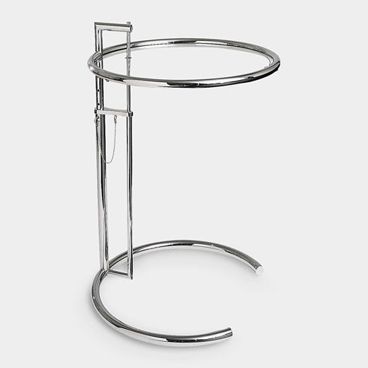 Like the best of Mozart's music, if you changed anything on this piece, it would be diminished.  It's hard to believe this lovely and useful little jewel of a side-table was designed in 1927.