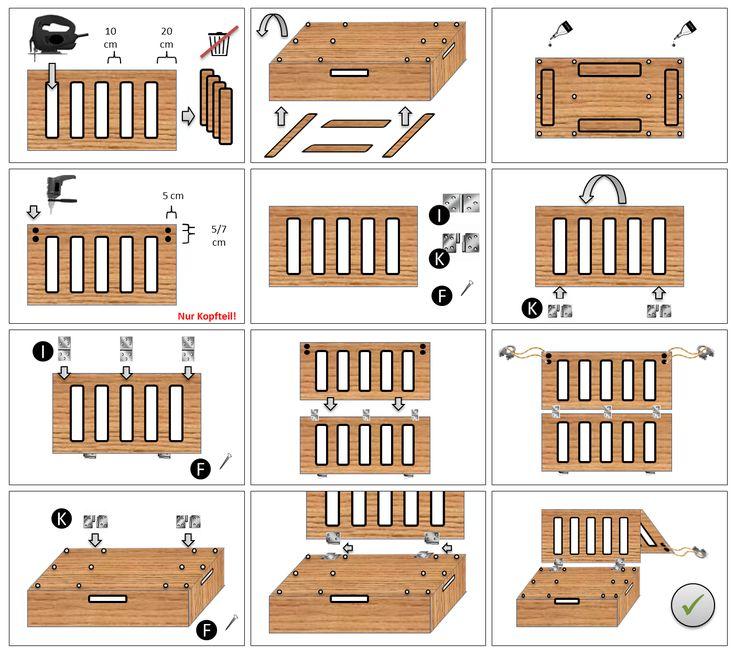 DIY Bauanleitung – Die clevere und preiswerte Camp…