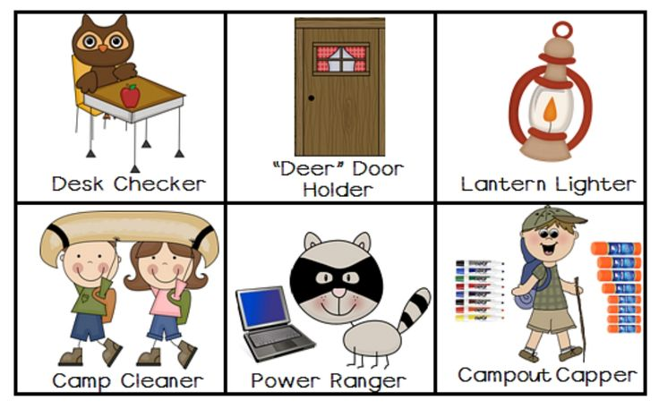 Camping Decorations For The Classroom | Camp Kindergarten: Classroom Jobs with a Camping Theme!