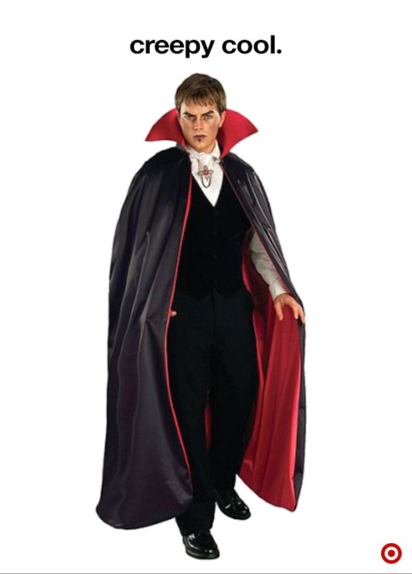mens dracula vampire costume one size fits most - Halloween Dracula Costumes