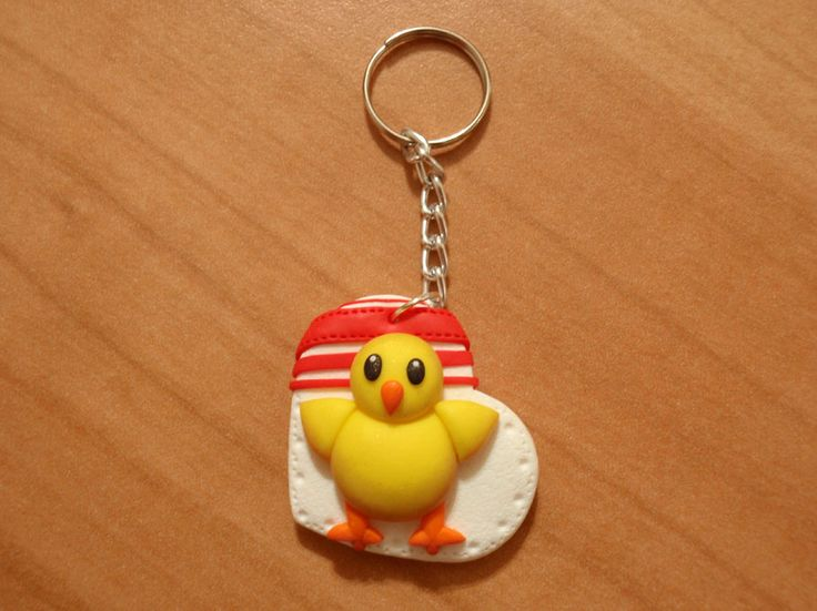#polimerclaycreation #chick #emoticon #whatsapp #cernit #fimo