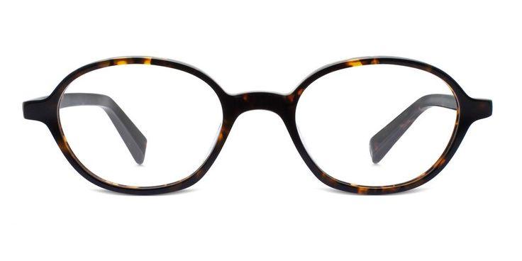 Eli in Whiskey Tortoise - Eyeglasses - Women | Warby Parker