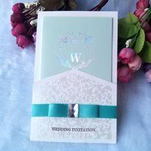Бесплатная доставка Пригласительный билет fashionTiffany голубые свадебные приглашения свадебные приглашения коммерческий(China (Mainland))