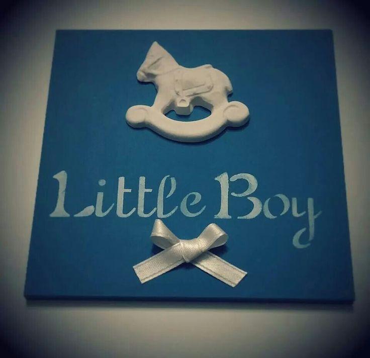 Targa nascita bimbo - little boy