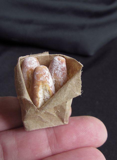 Tiny bag of bread