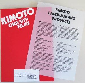Paper Sheets : Matt Film (Kimolec) - (Vellum)