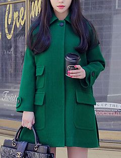 rlk biancheria di lana cappotto 5305 verde – EUR € 28.36