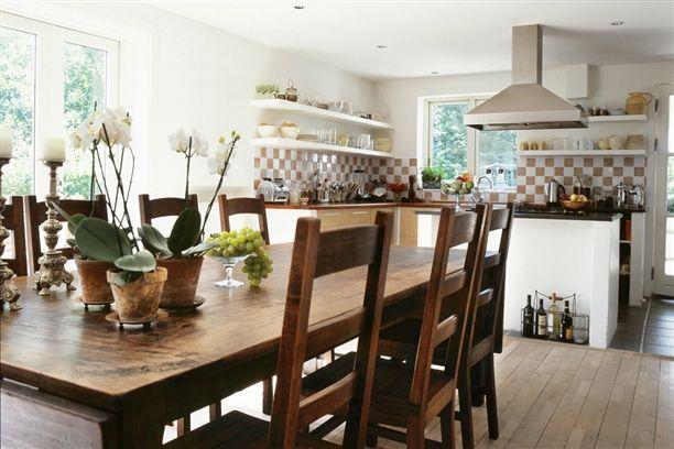 Spisestuer - Vi spiser i køkkenet