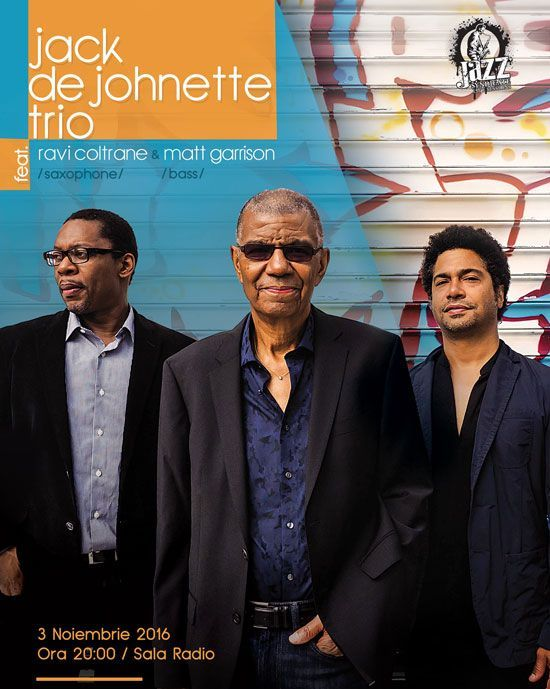 Jack DeJohnette Trio - 03 Nov 2016