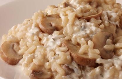 Philadelphia Mushroom Risotto