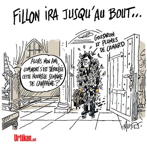 Fillon chahuté par Tourcoing - Dessin du jour - Urtikan.net