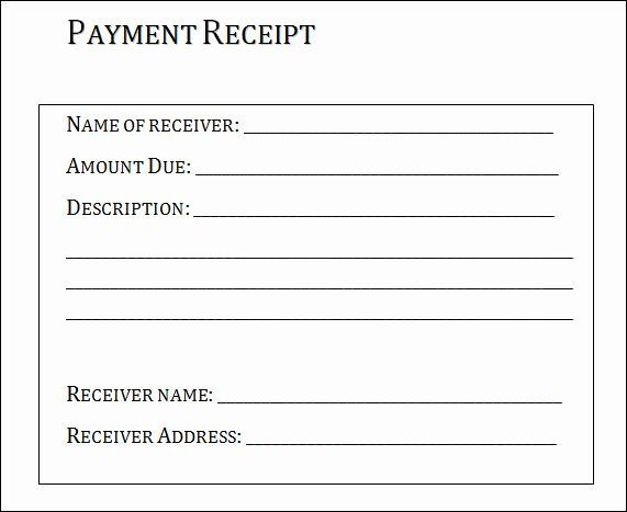 Payment Receipt Format In Word Lovely Free 26 Payment Receipt Samples Pdf Word Excel Pages Receipt Template Free Receipt Template Invoice Template Word
