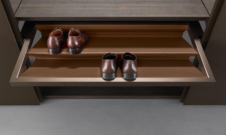 Sapatos no Closet