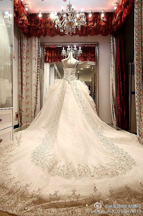 wedding dresses long train - Google'da Ara: Dresses Wedding, Crystals, Cathedrals Training, Weddingdress, Wedding Dressses, Ball Gowns, Luxury Wedding Dresses, Prom Dresses, Long Training