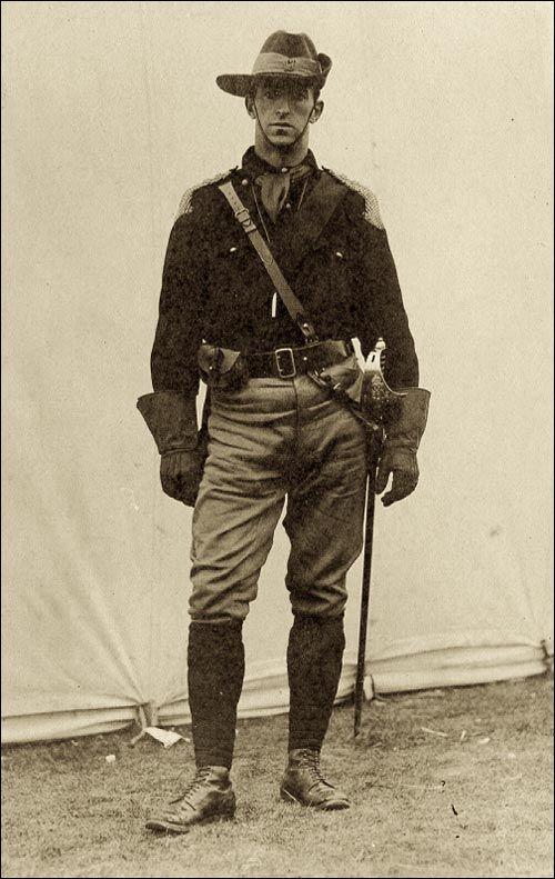 Walter Rendell 1914 Newfoundland (Canadian) Frontiersmen ...