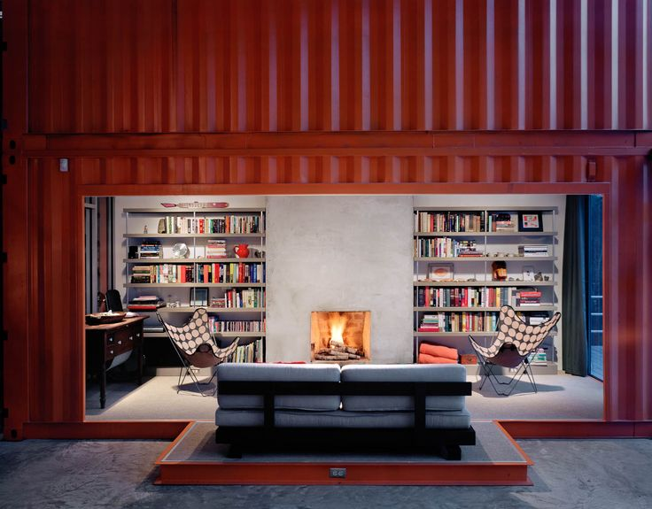 the 12 container house library cargo container homesshipping