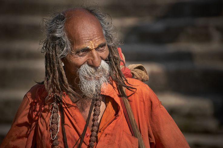 Sadhu man - Nepal, 2016