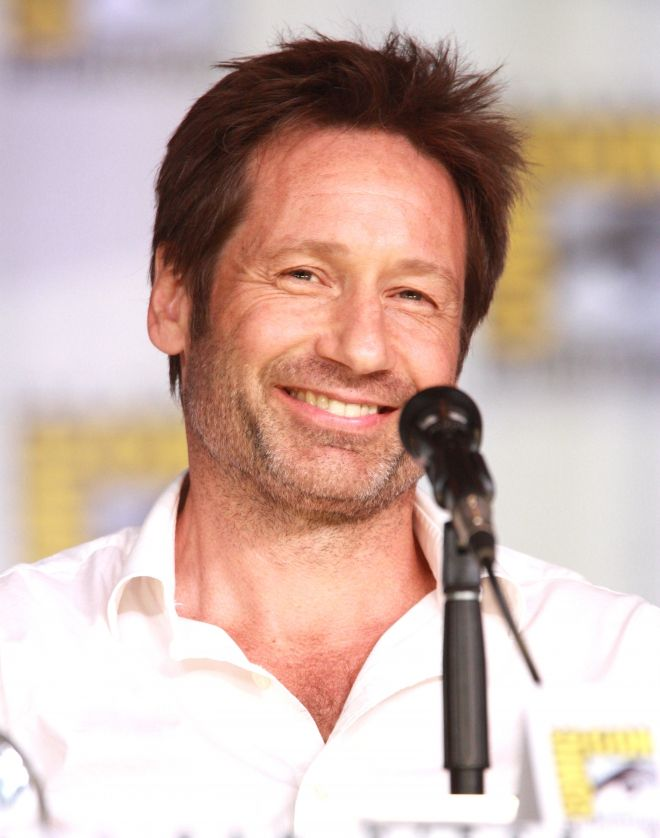 THE DAVID DUCHOVNY HAIR  david-duchovny-How to Wear Your Hair Short 29 Best Short Haircuts for Men