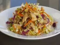 Asian Slaw Salad with Chicken | Thriving Home