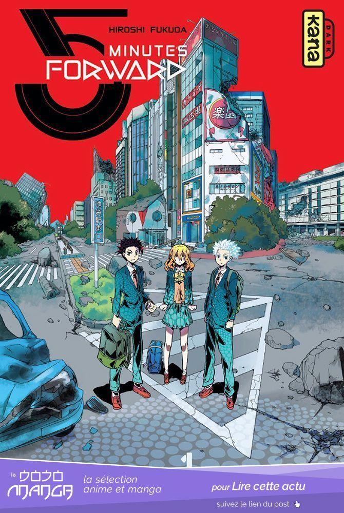5 Minutes Forward Le Nouveau Dark Kana Le Dojo Manga Anime Mangas Manga Anime