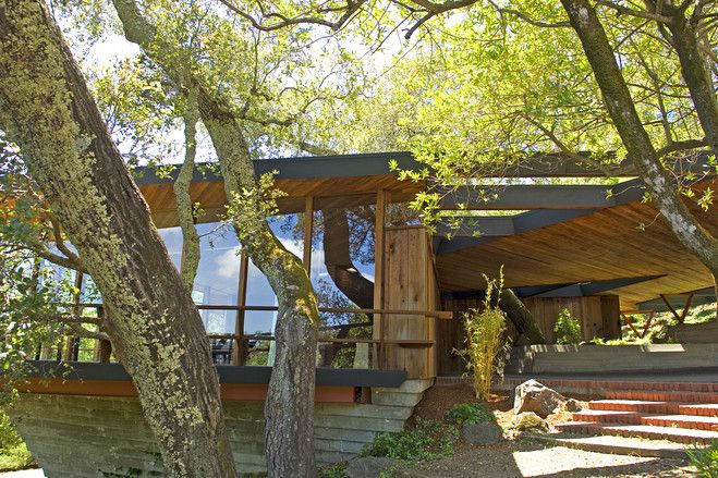 Marin County, Mid-Century Modern, -- Photos, House of the Day,  WSJ.com, Jack Hilmer, Warren Calister, Kent Woodlands, Kentfield, Marin County, Renee Adelmann, Real Estate, Just Sold