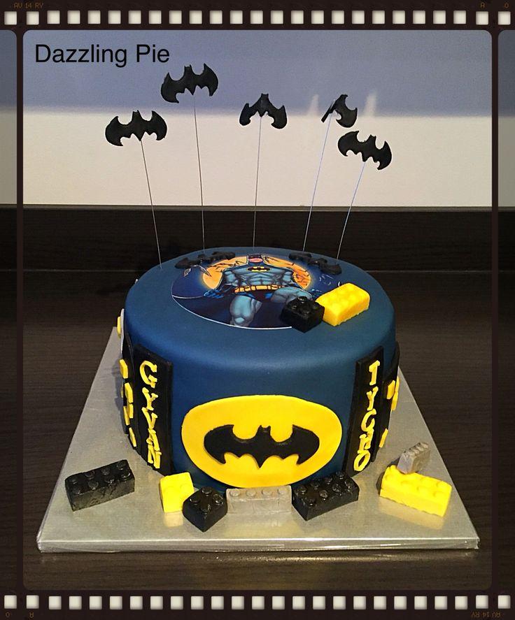 LEGO Batman cake made by Dazzling Pie
