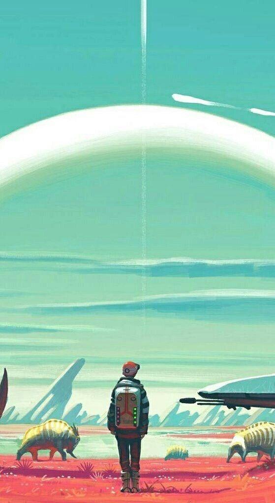 Ps4 Games Science Fiction : No man s sky phone wallpaper geek pinterest