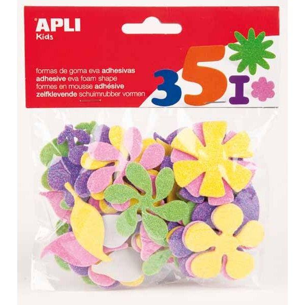 Comprar Goma eva flores colores surtidos 13078  #decoracion #hogar #manualidades #gomaeva #creativas #escolar