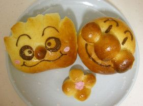 アンパンマンパン&クリームパンダパン
