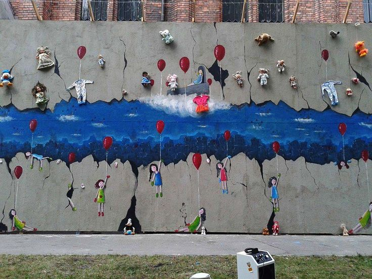 Refugee artists from Syria respond to the refugee crisis