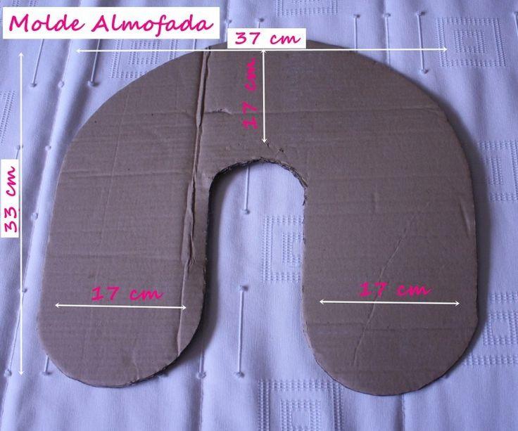 molde almofada de pescoço