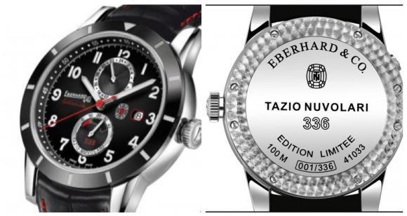 Tazio Nuvolari 336 : un second fuseau horaire pour le best-seller d'Eberhard & Co