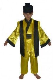 Çocuk Samurai Kostümü, Erkek Çocuk Kostümleri, Ülke Kostümleri,Erkek Çocuk Ülke Kostümleri,