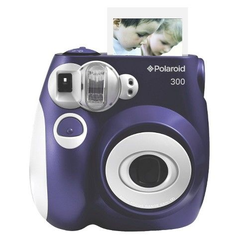 Polaroid 300 Instant Camera....think it'd be cute to have this at the reception with a photo booth & then keep the photos to make a collage!!
