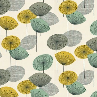 fiona howard for sanderson 'dandelion clocks' wallpaper