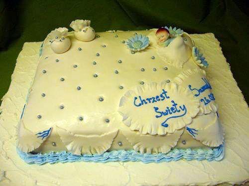Sakrament chrztu świętego, imiona dla dzieci, prawa i obowiązki słodkie zakończenie torty na chrzciny