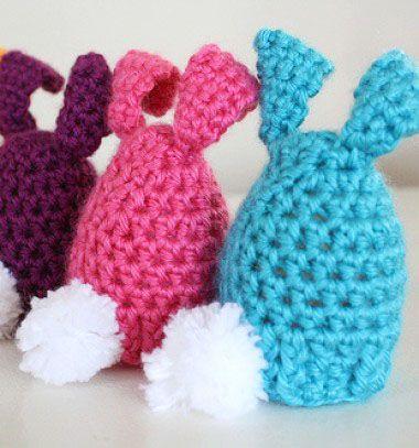 Crochet egg cozy for easter / Horgolt tojás melegítők / Mindy