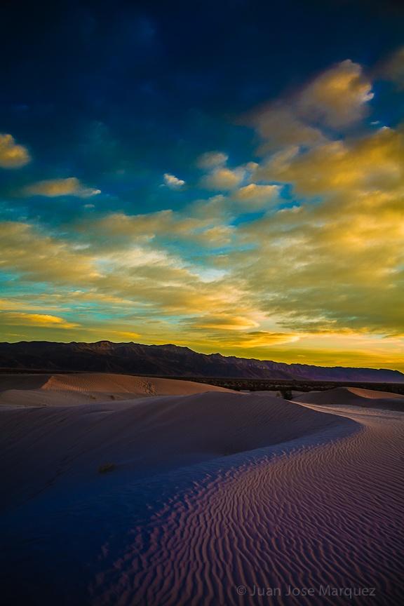 Desert Dunes in Bilbao Viesca Coahuila