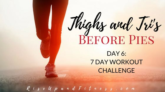 Quick (but killer) Cardio Countdown workout -  You'll hate me today but love me tomorrow! Burns your thighs triceps and full body. Part 6 of a 7 day series