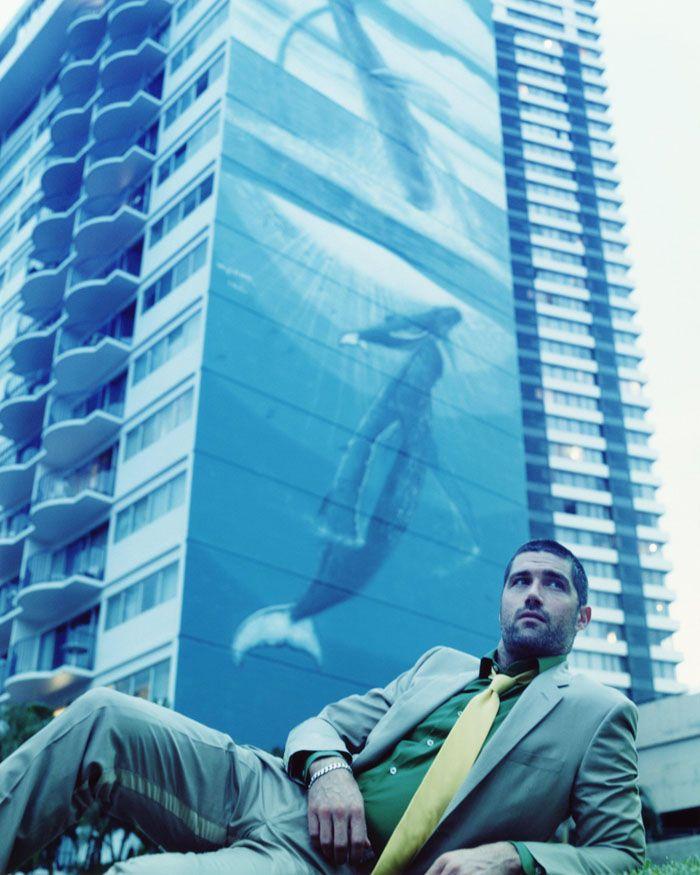 Мэттью Фокс (Matthew Fox) в фотосессии Пегги Сирота (Peggy Sirota) для журнала GQ (2005), фотография 7
