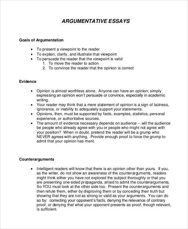Free 16 Argumentative Writing Sample Template In Pdf M Word A Persuasive Essay Opinion Examples Leadership Essays