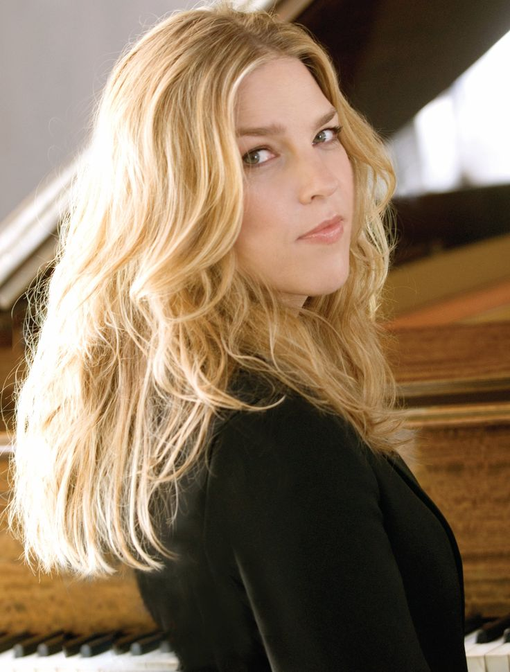 Diana Krall... Harmony between voice and piano
