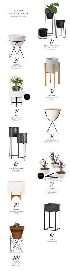 Modern Plant Stands ähnliche tolle Projekte und Ideen wie im Bild vorgestellt findest du auch in unserem Magazin