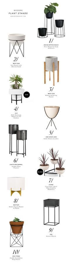 cool 10 BEST: Modern plant stands by http://best99homedecorpics.xyz/modern-decor/10-best-modern-plant-stands/